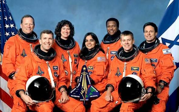 Space shuttle Columbia crew mission STS-107