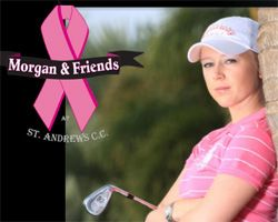 Morgan Pressel and Odyssey Golf Team Up for Breast Cancer Research.