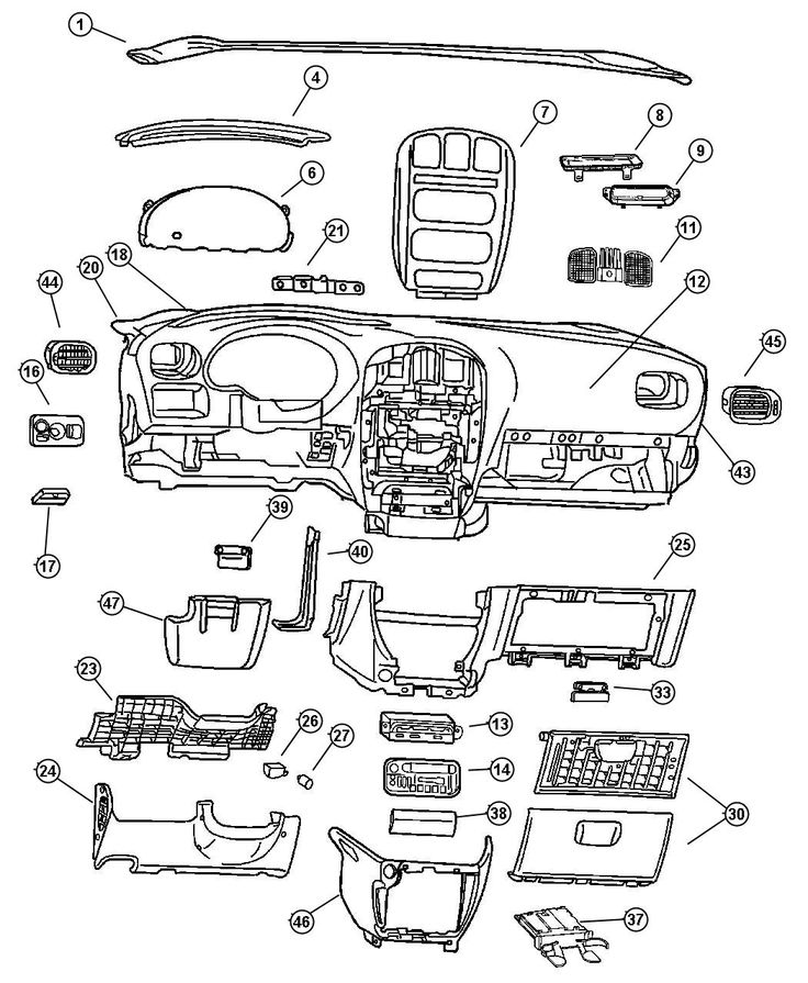 2019 Ford Explorer Grill Guard additionally 37365871885161807 in addition P 0900c15280089cc4 additionally 2007 Chrysler Pt Cruiser Diagram further Chrysler Town And Country Parts Diagram. on dodge chrysler minivan inside