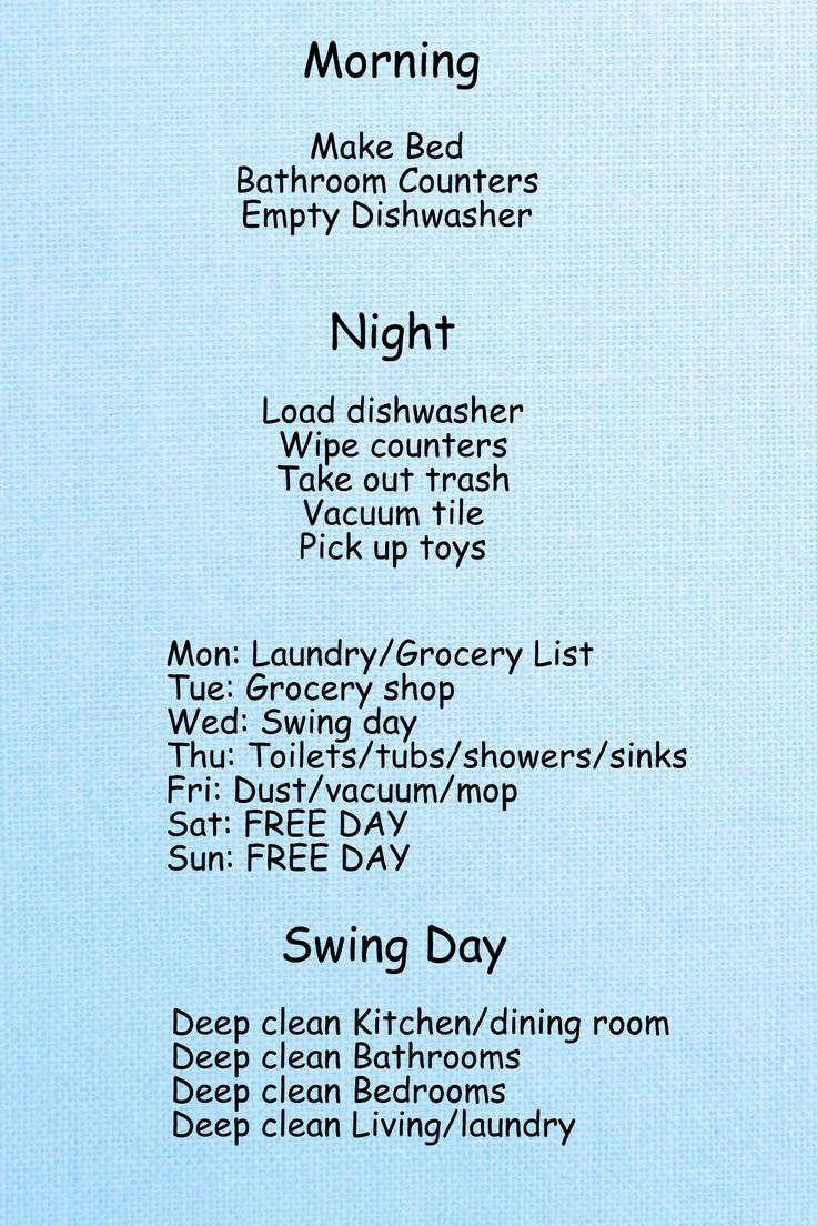 Bedroom Deep Cleaning Checklist. My Bathrooms Are Sparkly And Shiny ...