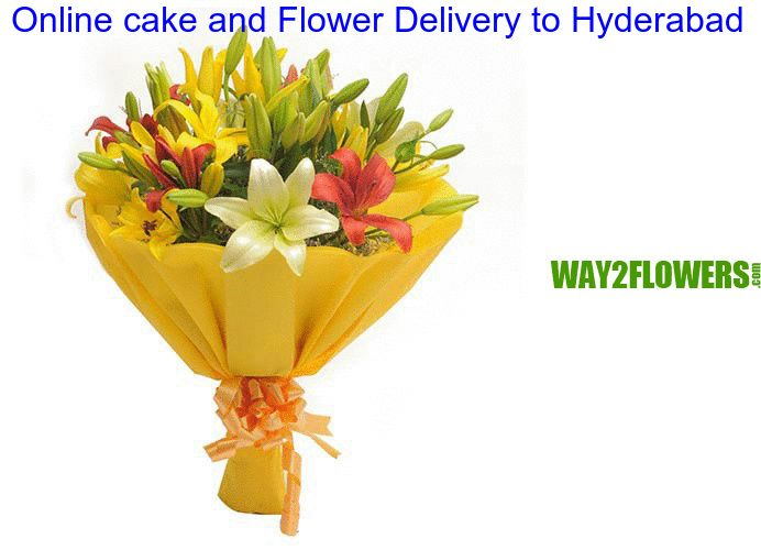 http://www.way2flowers.com/flowers-delivery-to-hyderabad Get Cheaper Flowers: There are some flowers that are reasonably cheaper than the others, while being extremely beautiful and gorgeous Online Bouquet Delivery in Hyderabad. Gift, Cakes and Chocolate are relatively cheaper than any other flower and can be used in wedding decorations. The price of the flower does not matter; it is important how creatively and beautifully you can present the wedding floral arrangements.