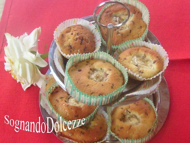 Sognando Dolcezze: Cupcakes alla banana