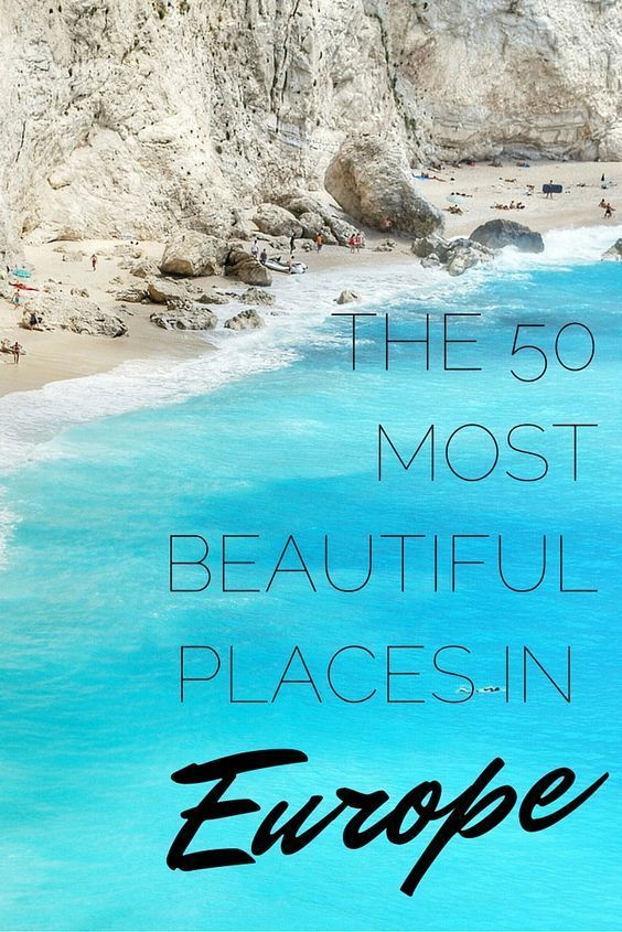 The 20 Most Beautiful Places in Europe – Europa Reise