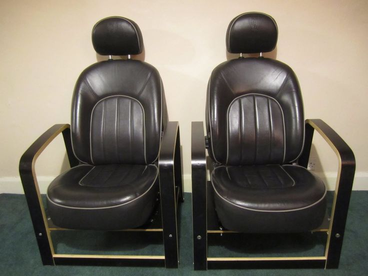 Car seat chair. Rover/Poang Chair. I've always thought that car seats would make great furniture. They're meticulously designed for comfort and durability.