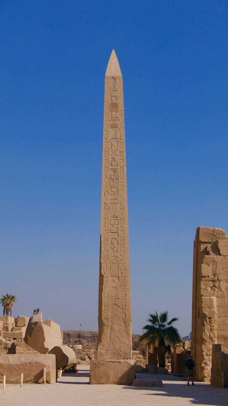 The Hatshepsut Obelisk - Karnak