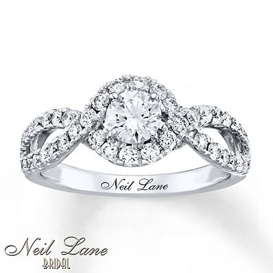 Neil Lane Engagement White Gold And Engagement Rings On