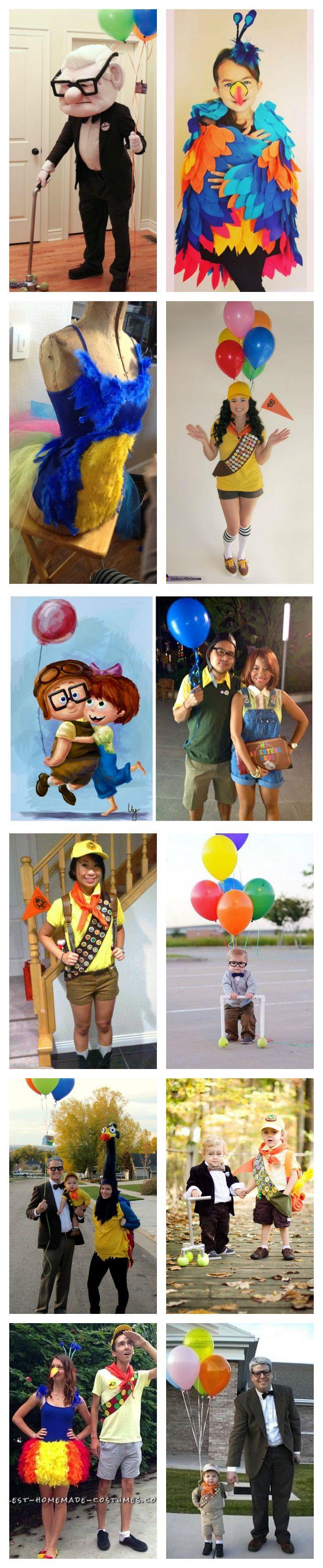 Disney Pixar Up Costume inspiration                                                                                                                                                                                 More