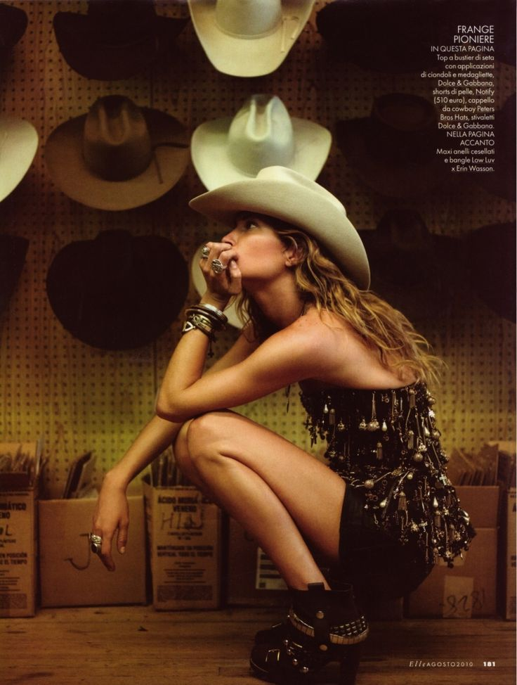 rodeoSummer Looks, Style, Erin Wasson, Cowgirls Chic, Fashion Magazines, Cowboy Hats, Cowgirls Fashion, Westerns Wear, Cowgirls Hats