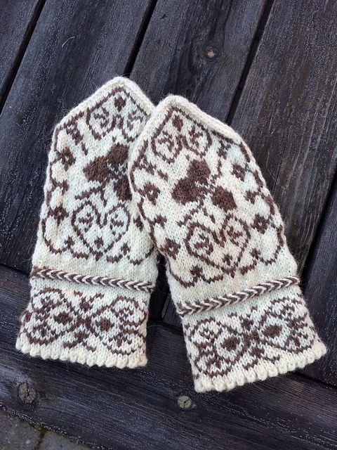 147 best Knit Fair Isle images on Pinterest | Knit mittens ...
