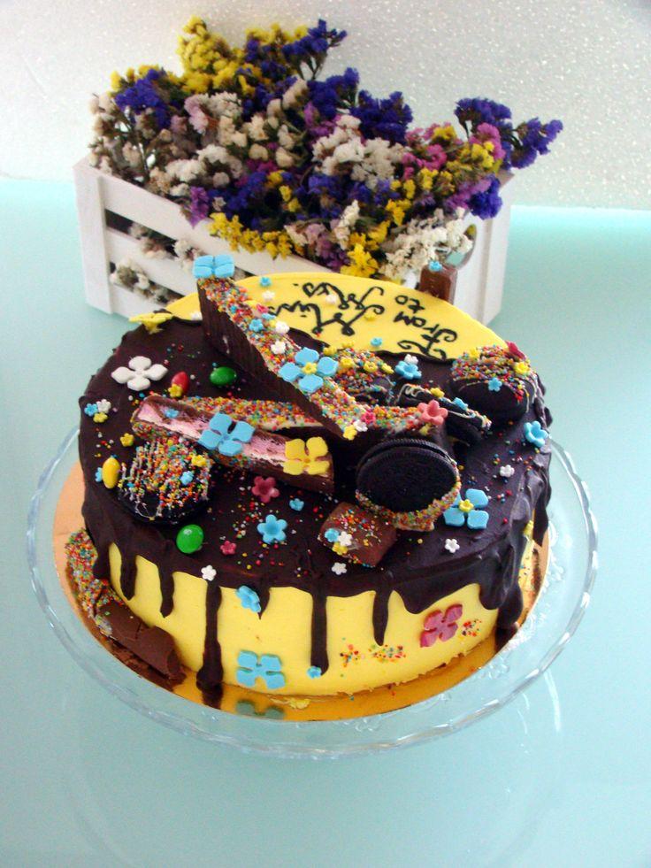 Buttercream cake https://instagram.com/bakings