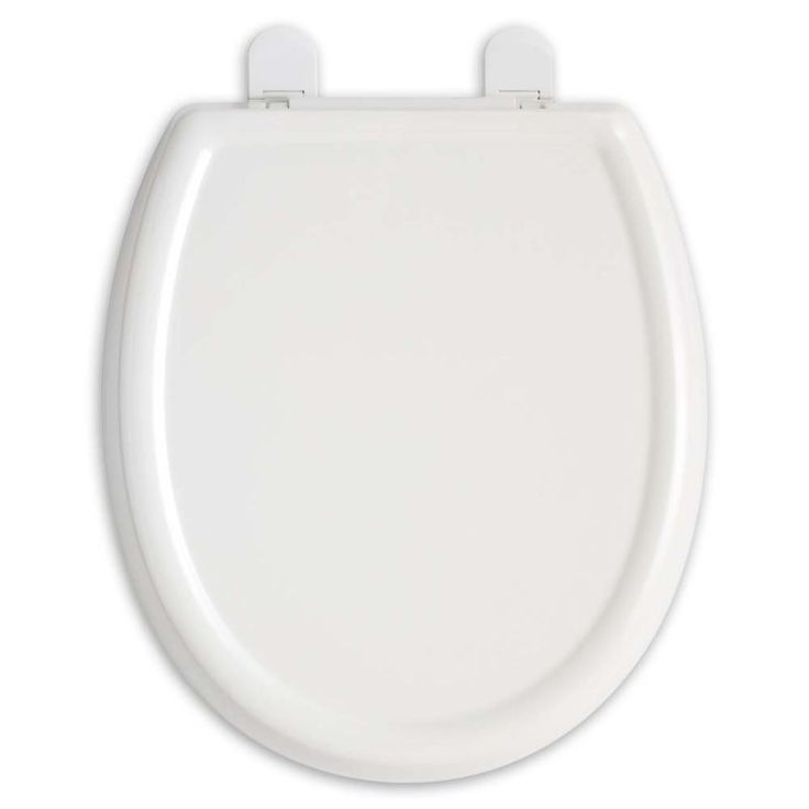 american standard cadet 3 elongated slow close toilet seat with cover a white accessory toilet
