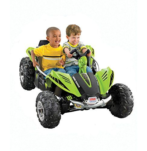 Fisher-Price Power Wheels Green Dune Racer Fisher-Price…