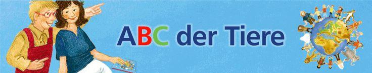 ABC der Tiere: Lesen und schreiben lernen mit der Silbenmethode mit Silbentrenner®
