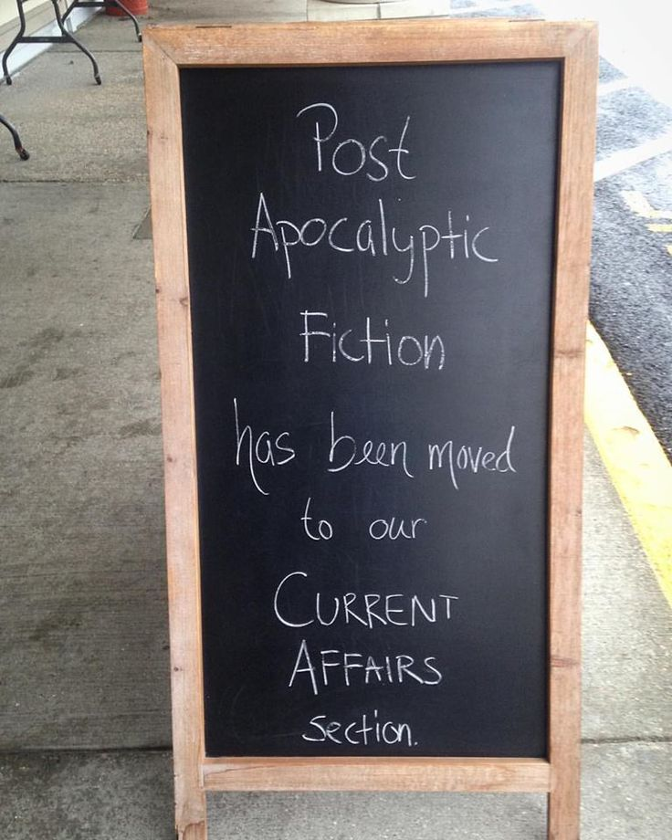 Post apocalyptic fiction has been moved to our current affairs section.