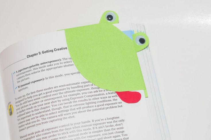 Make It Pretty Wednesdays: Father's Day Frog Bookmark Kid Craft w/ Glue Dots®
