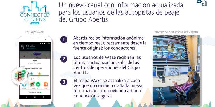 La compañía Abertis se ha unido al Programa 'Connected Citizens' de Waze, la aplicación gratuita de navegación social y tecnología móvil sobre información de tráfico en tiempo en tiempo real, que se basa en las aportaciones de la comunidad de conductores de todo el mundo. Se trata de un acuerdobidireccional para compartir datos que permitirá …