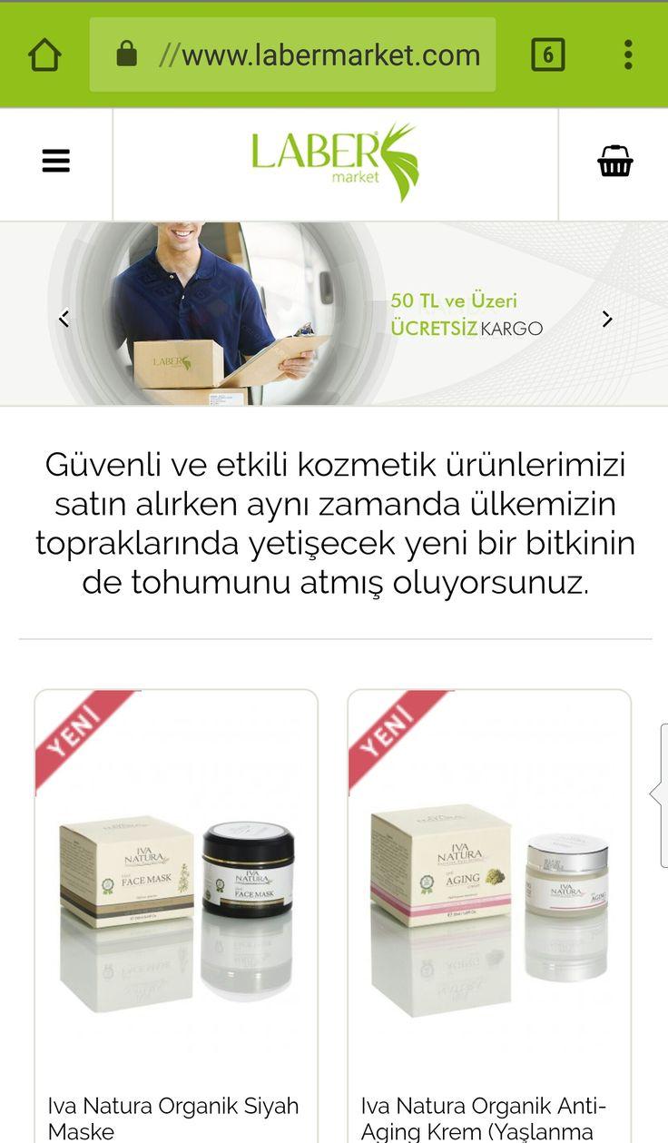 Laberkimya.com üzerinden organik kozmetik ürünlerini satın alabilirsiniz.