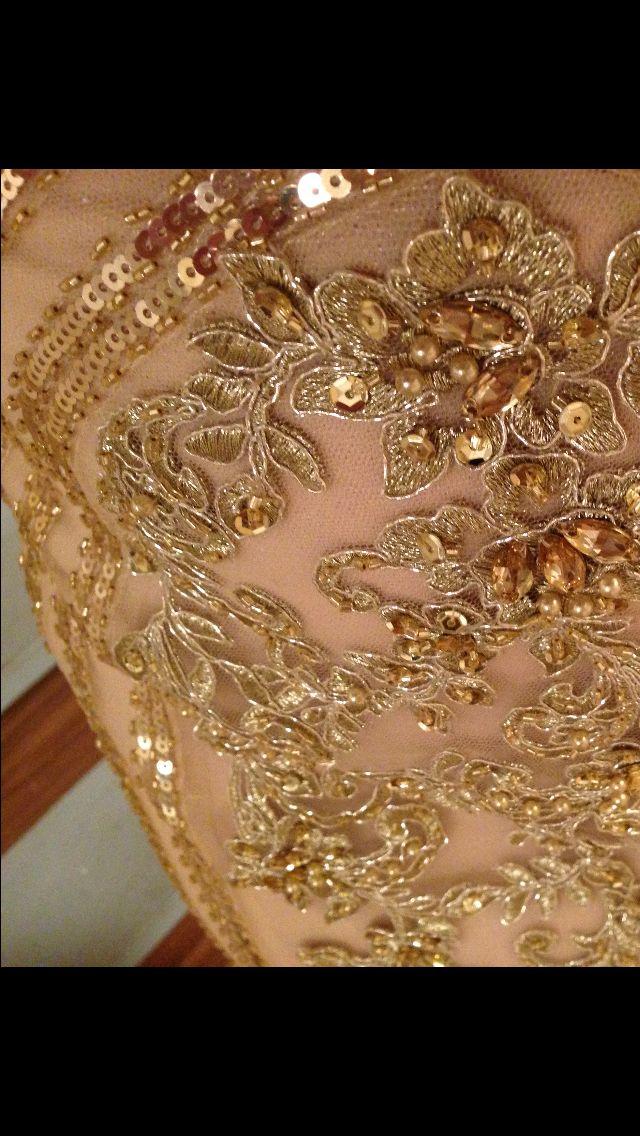 Close up dress