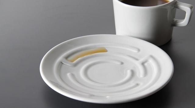 laberint tea cup plate