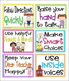 Inspired by Kindergarten: Behavior Charts....here's what I'm going to try!                                                                                                                                                      More