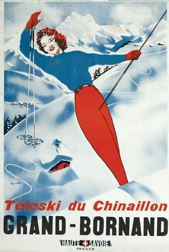 Téléski du Chinaillon - Grand-Bornand - Haute Savoie - France -