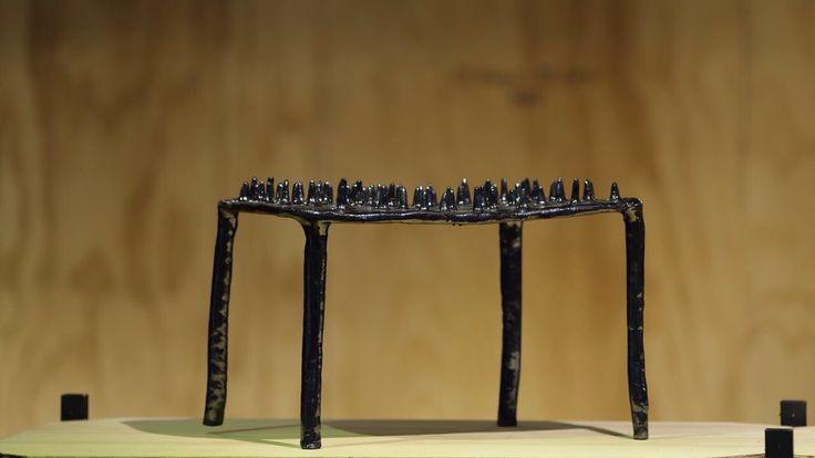 handmade ceramic sculpture table  #design #ceramic #sculpture #objectdesign