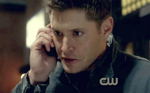 Reaction GIF: nope, Dean Winchester, --- can anyone give me an episode for this??