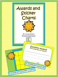 FREE sticker charts and reward certificates