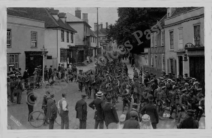 Soldiers in Great Dunmow