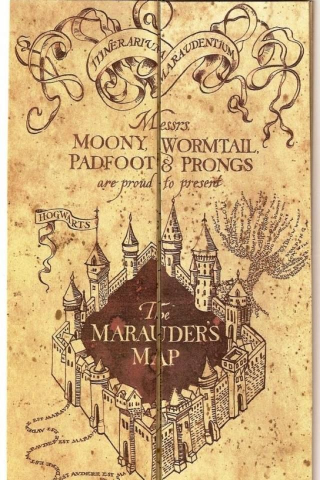 Marauders Map | iPhone | Pinterest | Marauders map and Maps