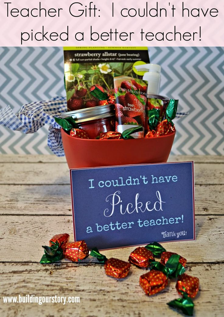 80 best diy teacher appreciation gifts images on pinterest amazing diy end of year teacher gift i couldnt have picked a better teacher negle Image collections