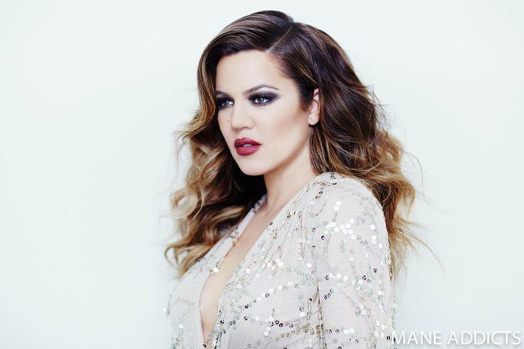 Mane Addicts » Editorial Exclusive: Khloe Kardashian Mane Muse