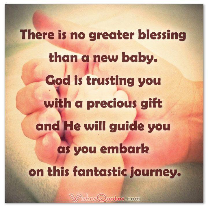 Christian baby congratulations card messages biblegod