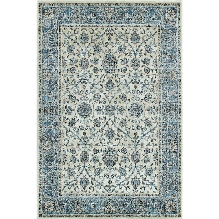 Wallington Collection White Blue Traditional Area Rug 1 10 X 2 11 Multi Multicolor Area Rugs Rugs Traditional Area Rugs