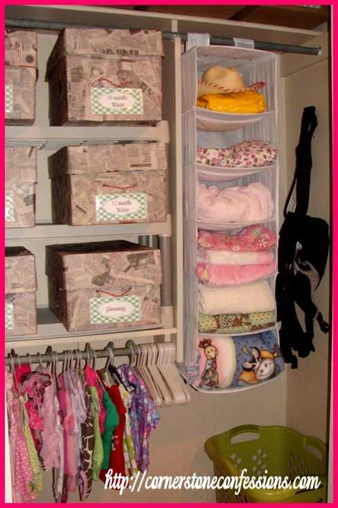 Cheap Closet Organization Tips For The Home Closet Organization Organization Hacks Blanket