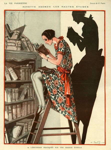 La Vie Parisienne (Parisian life) was a French weekly magazine founded in Paris in 1863 and was published without interruption until 1970. This edition is from 1924.