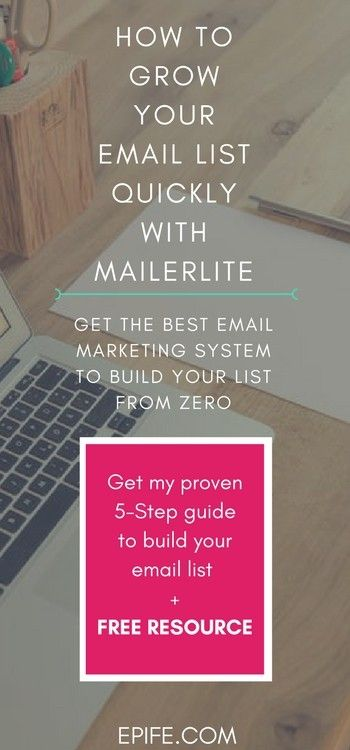 Do you have an email list for blog or want to build one? You are lacking behind, if you are still thinking about it.This post will help you grow your email list QUICKLY with Mailerlite. Get a Free Resource and 5-Step Guide From Zero Inside!