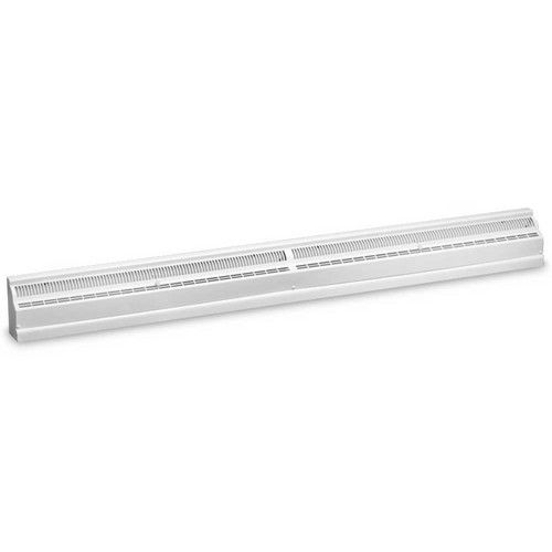 4' White Baseboard Diffuser (464 Series)