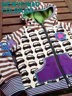 Hoodie Jacket Tutorial/ FREEbook WOW - sobald ich mein Maschinchen etwas besser beherrsche, wage ich mich an diesen tollen Hoodie!
