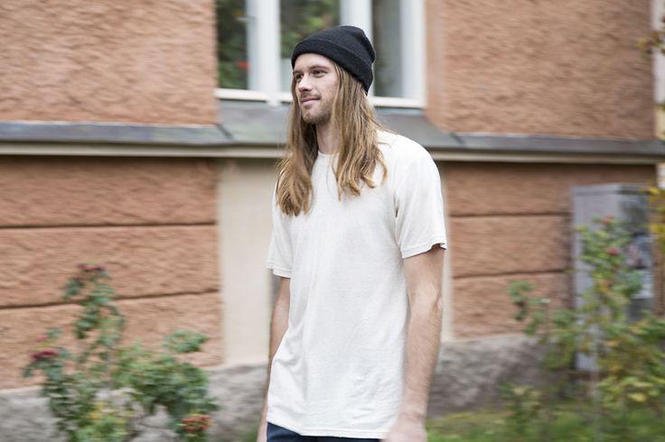 RCM CLOTHING FW14 / Basic T-Shirt / 55% hemp 45% organic cotton jersey / Sustainable Hemp Wear http://www.rcm-clothing.com/