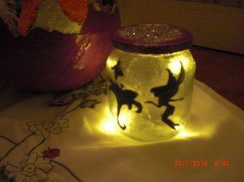 DIY - Anleitung - Fee im Glas - Fairy jar - Nachtlicht für Kinder