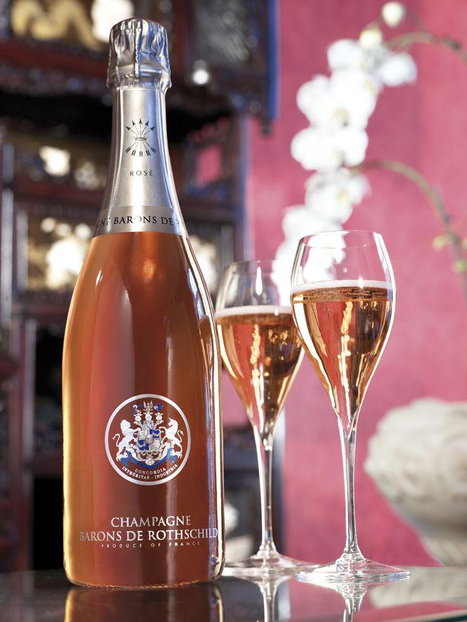 #Champagne Barons de #Rothschild - #Rose