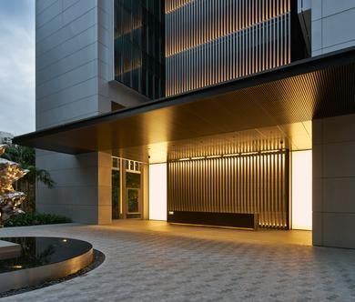 45 best hotel entrance images on pinterest arquitetura