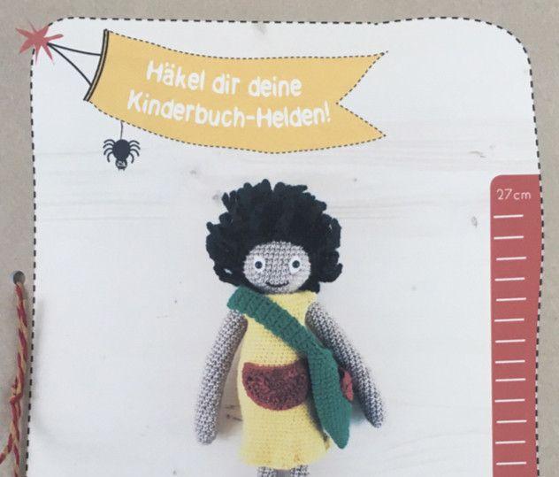 Häkelanleitungen - Kinderbuchheldin YoYo von YoYo und Motte - ein Designerstück von mahepu bei DaWanda