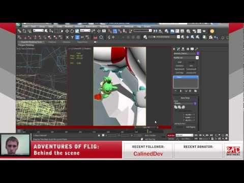 #15. Flig vs Candyeti: Animations in 3ds max #twitch #indie #indiedev #gamedev #aoflig #fligadventures #adventuresofflig #flig