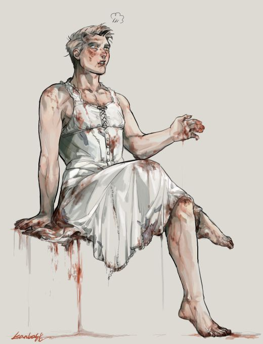 garbage : Photo The Bride Waylon from outlast whistleblower