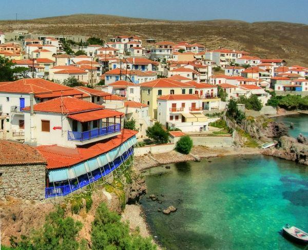 Sigri village, Lesvos