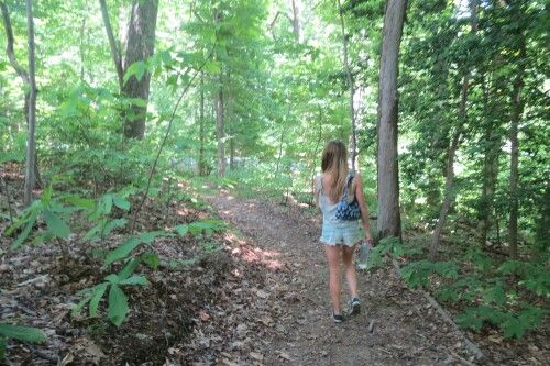 Woods with Danielle