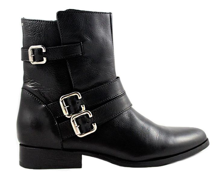 Cartel Footwear AW16 Biker Boot - Palmira Black Leather