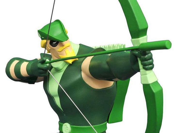 Justice League Animated Series Bust - Green Arrow -  Justice League Justice League Animated